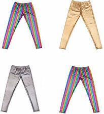 Mens  Shiny Leggings Stretch Gay Pride Shiny Disco Pants  Leggings