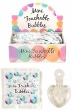 WEDDING HEART MINI TOUCHABLE/CATCHABLE MAGIC BUBBLES PARTY  BAG FAVOUR FILLER