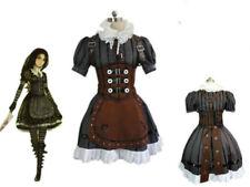 Alice Madness Returns Alice Stream Halloween Cosplay Costume Dress#