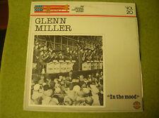 LP GLENN MILLER-IN THE MOOD-VOL 20-SPANISH PRESS DIAL 50.1928/1986