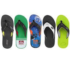 Reef Flip Herren Flops Zehentrenner Zehenstegsandalen Schuhe Schlappen Slipper