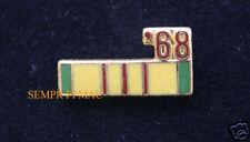 68 VIETNAM SERVICE PIN US MARINES NAVY ARMY AIR FORCE COAST GUARD VET NAM 1968