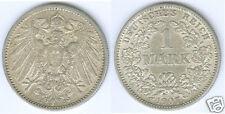 Kaiserreich  1 Mark 1907 J  vz+