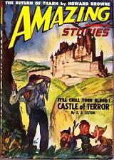 Pulp AMAZING STORIES November 1948 J. Allen St. John Howard Browne Virgil Finlay