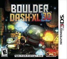 Boulder Dash-XL 3D USED SEALED (Nintendo 3DS, 2012)