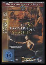 DVD DIE 36 KAMMERN DER SHAOLIN - SHAW BROTHERS *** NEU ***