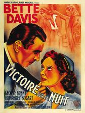 Dark Victory Bette Davis vintage movie poster print #4