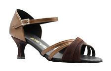 "Ladies All Colours Social Ballroom Dance Shoes 2/2.5/3"" Heel By Topline CHELSEA"