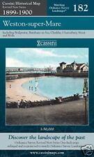 Carte de weston super mare 1899-1900
