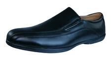 Walking Plantilla Piel Zapatos De Cuero Para Hombre - Negro - 011594