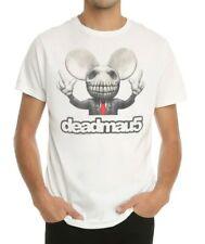 Deadmau5 Deadmaus SKULL HEAD T-Shirt NEW Authentic & Official