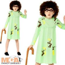 Mrs Twit Girls Fancy Dress Roald Dahl World Book Day Childs Kids Costume Outfit