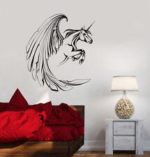 Vinyl Decal Unicorn Fantasy Myth Girl Room Wall Stickers Mural (ig3468)
