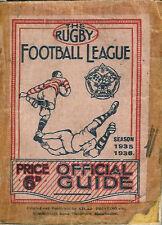 La ligue de rugby football guide officiel annuel 1935-36