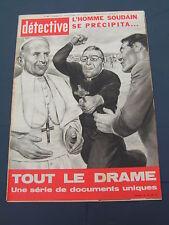 Détective 1970 1269 DROUVIN LE MARAIS MORéAC SAN ANTONIO CHAUMONT