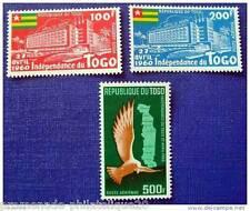 TOGO timbre - stamp - aerien- yvert et tellier n°34 a 36 n**