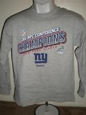 NEW-Minor-Flaw Giants 2011 NFC Champions Youth Sizes 3T-7-S-M-L Reebok Shirt