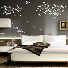 Flores Plantas Árboles Aves Arte Pared Pegatinas de pared Calcomanías Dormitorio