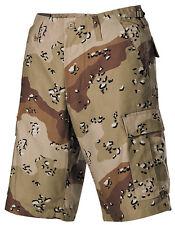 NUOVA linea uomo Esercito Stile Fashion Combat Cargo Pantaloncini 6 Colori Deserto Mimetico -