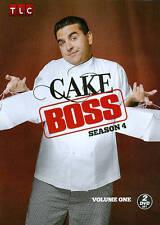 Cake Boss ~ 4th Fourth Season 4 Four Volume 1 ~ NEW 2-DISC DVD SET