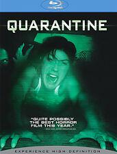 Quarantine (Blu-ray Disc, 2009) Horror Scary Movie Zombie Demon