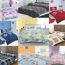 Duvet quilt Cover Bedding Set-Singolo Doppio King compresi i casi di cuscini