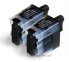 Lc41bk lc900bk lc950bk - 2 Negro Compatible Cartuchos De Tinta