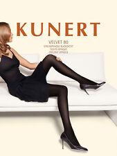 "Rest: Kunert ""Velvet 80"" Strumpfhose blickdicht div. Farben Gr. 38-40 bis 44-46"