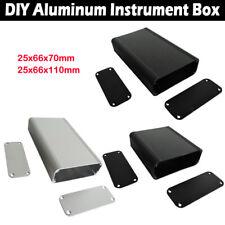 Aluminum Instrument Box Enclosure Electronic Project Case 25x66x70mm/110mm