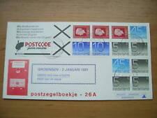 FDC Philato met postzegelboekje 26a + aanhangsel