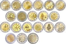 2 euros monedas especiales Portugal a partir del 2007 todos los años-libre elegibles-prägefrisch