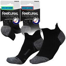 Feetures Ultimate Compression pro Plantarfasziitis Blasenfrei Socken Schwarz Nst
