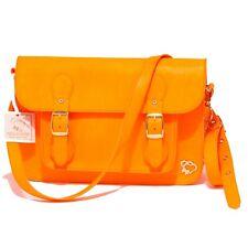 3562Q borsa donna MAISON ESPIN arancione fluo tracolla regolabile bag woman