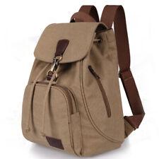 Fashion Vintage Schoolbag Traval bag Theftproof Hard-wearing Outdoor Canvas Bag