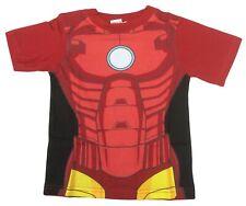 MARVEL Avengers Iron Man Fancy Dress Up Costume Bambini T-shirt-UFFICIALE-NUOVO
