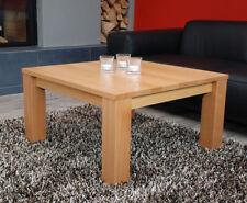 Couchtisch Lounge Tisch Buche 80x80 Massivholz nach Maß Echtholz Ablage optional