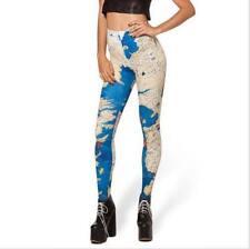 Fashion The world map printed legging Galaxy Digital Printed legging