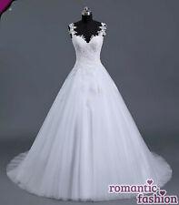 ♥ Brautkleid Hochzeitskleid Weiß Größe 34-54 zur Auswahl+NEU+SOFORT+W101♥