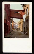 1902 rue sous le cap quebec canada postcard