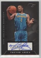 2010-11 Elite Black Box Status Signatures Autographed #84 Trevor Ariza Auto Card