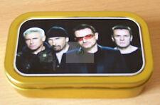 U2 1 and 2oz Tobacco/Storage Tins