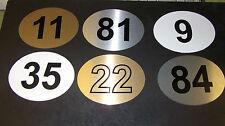 ELIPTICAL DOOR NUMBER/LETTER,  HOME, HOTEL, B&B, OFFICE
