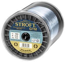 STROFT GTM 1000 m Monofile Angelschnur 0.08 mm bis 0.60 mm Blaugrau transparent