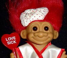 """VALENTINE Russ Troll Doll 5""""  NEW IN BAG Love Sick HTF"""