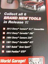 Auto World - JL 1:64 - Chevrolet Corvette, Camaro, Pontiac GTO, Buick Gran Sport