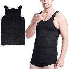 Men Corset Body Slimming Wraps Tummy Shaper Vest Belly Waist Girdle Shapewe E1P4