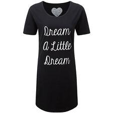 Love To Sleep Girls Ladies S/Sleeve Dream A Little Dream Sleep Tee Nightshirt