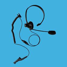 Overhead Style Mono Muff Earphone PTT for Motorola MOTOtrbo XiR P8208 XiR P8260