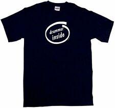 Drummer Inside Drum Set MUSICIAN Percussion T Shirt Pick Size SM - 6XL & Color