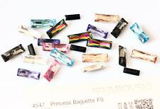 Genuine swarovski 4547 princesse baguette fantaisie pierres cristaux * plusieurs couleurs